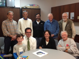 DEEP Commissioner meets with Land Trust Board member
